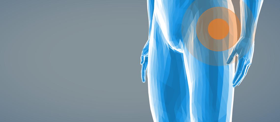 Hüftschmerzen