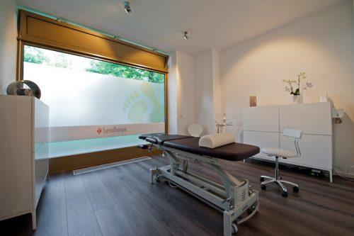 Ansicht erster Behandlungsraum