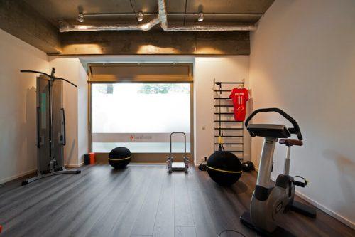 Innenansicht Fitness- und Rehazimmer