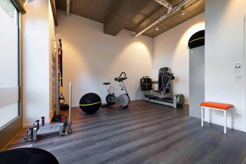Innenraumansicht Fitness- und Reha-Zimmer