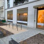 Praxis Physiotherapie in Schmargendorf Aussenansicht mit Fahrradständer